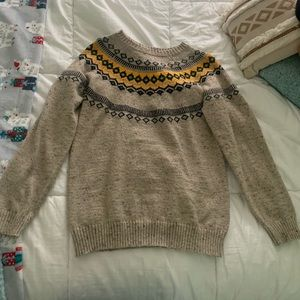 Casual winter sweater